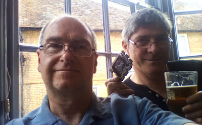A picture of Ken Boak and Alan Wood